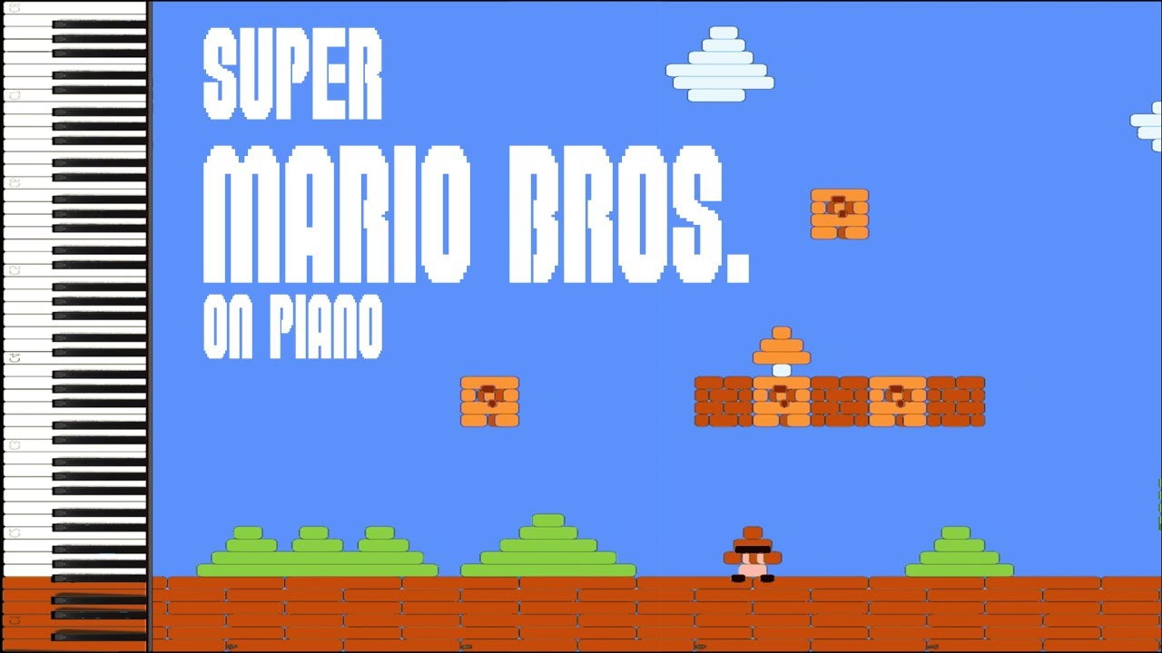 Synthesia Pictures – Super Mario Bros. (World 1-1)