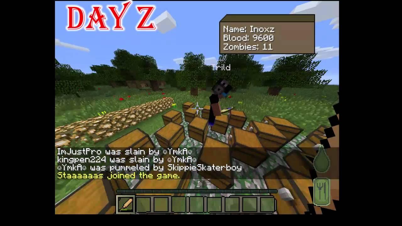 Сервера Лаунчер Dayz Minecraft - YouTube