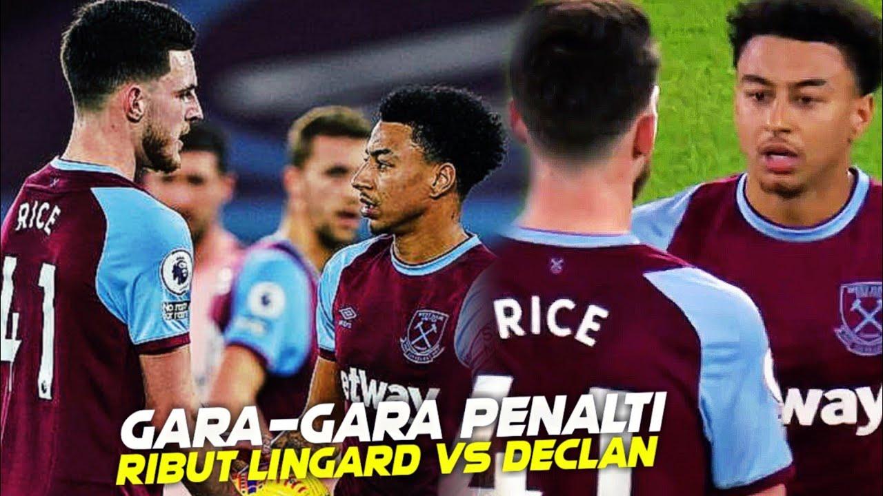 Jesse Lingard dan Declan Rice Rebutan Penalti Di London Olympic Stadium