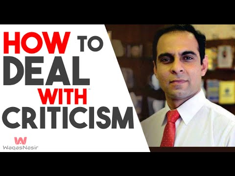 How to Deal With Criticism- By Qasim Ali Shah (In Urdu/Hindi) 2016