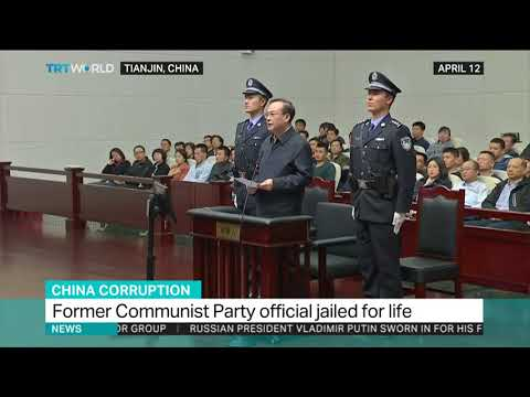 China's former Communist Party official jailed for life