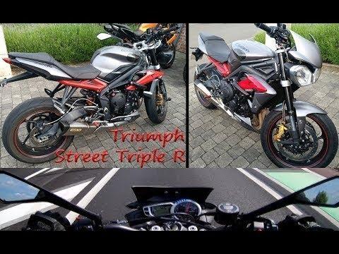 Reupload Triumph Street Triple R Full Arrow Quickshifter Youtube