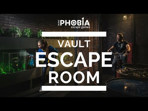 Vault Escape Room - the best escape game in Dubai