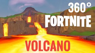[360 video] Fortnite 360° Volcano VR Box Google Cardboard Season 8