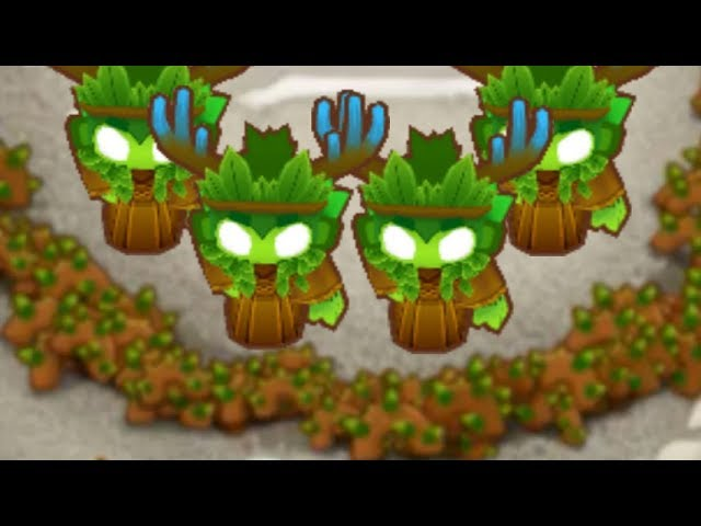 That's A Lot Of Vines - 4 Spirit Of The Forests Co-op Mode