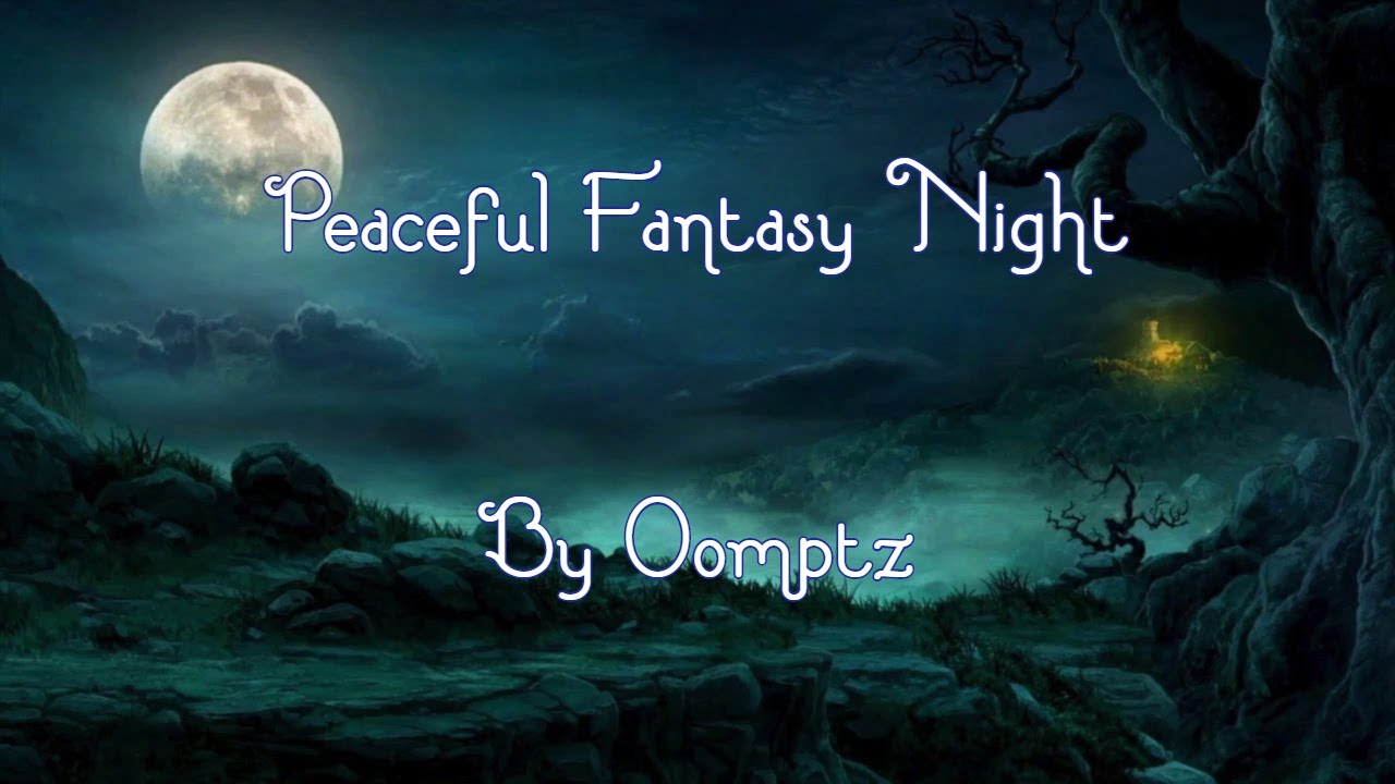 Image result for fantasy night time snow road