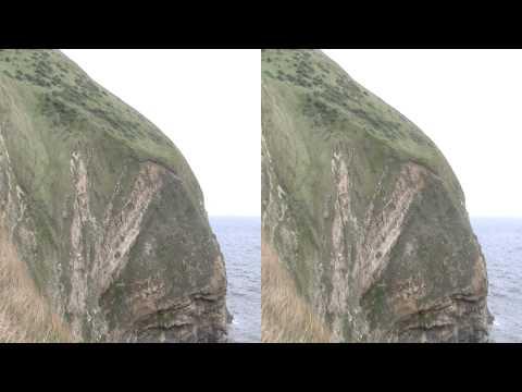 Tyneham Coast, Dorset. 3D Half SBS