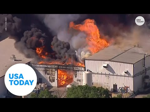 Chemical plant explosion causes multi-day long fire in Illinois   USA TODAY