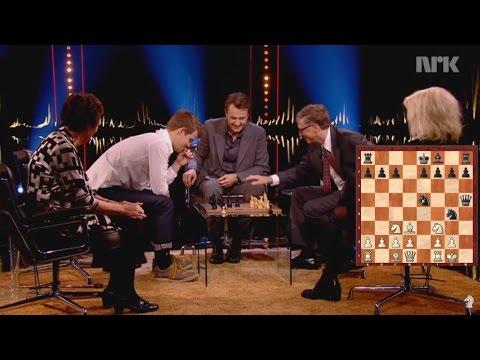 Как Билл Гейтс почти обыграл чемпиона мира по шахматам?!?! Билл Гейтс - Магнус Карлсен.