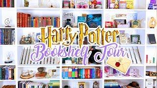 HARRY POTTER BOOKSHELF TOUR 2019 | Cherry Wallis