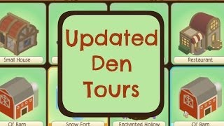 Animal Jam: Updated Den Tours