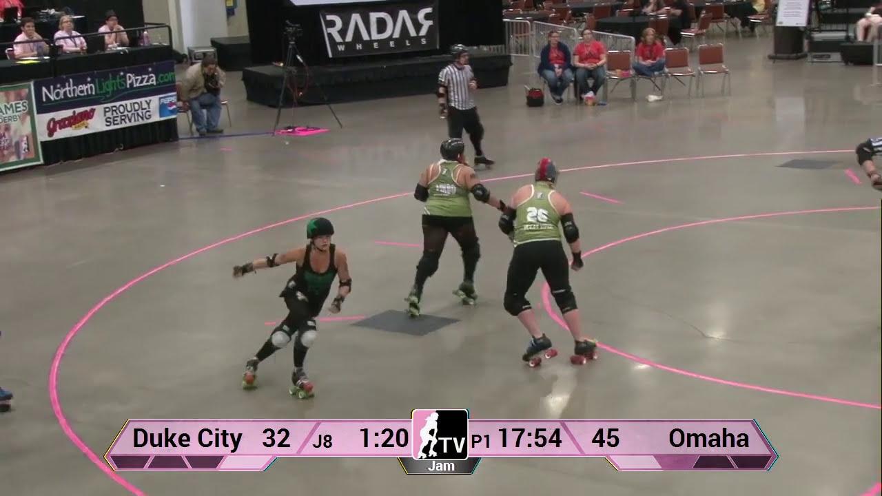 Roller skating omaha - Omaha Rollergirls V Duke City Roller Derby 2013 Wftda D2 Playoffs In Des Moines
