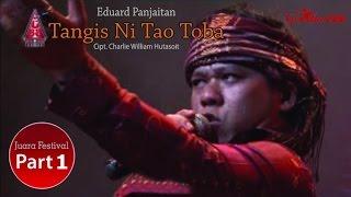 Eduard Panjaitan - Tangis Ni Tao Toba (Live Performance Video)