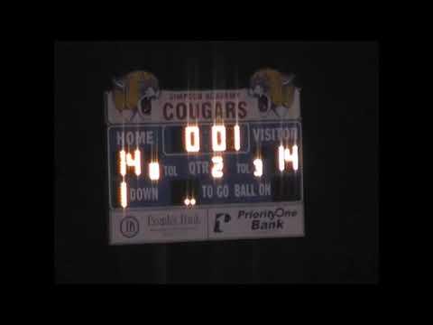 2010 North Delta School vs Simpson Academy