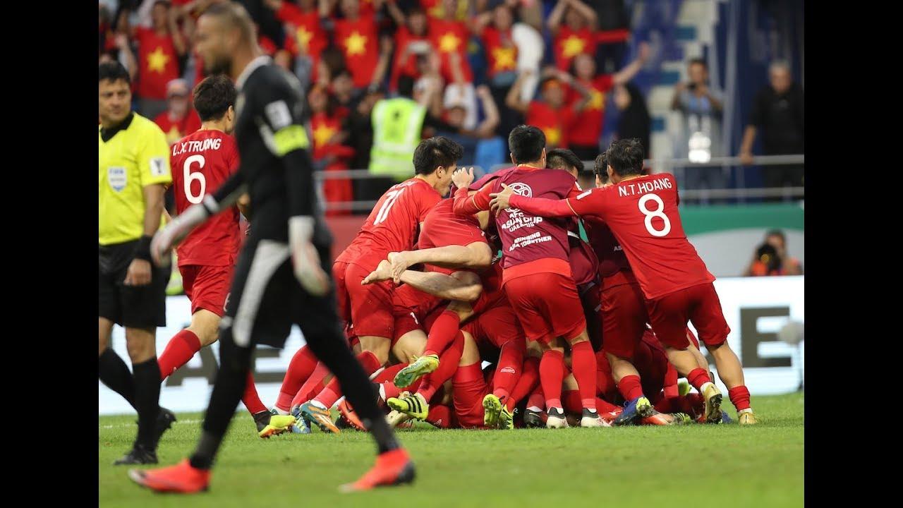 VietNam vs Jordan 1 - 1 Asian cup 2019 2nd (ベトナムがPK戦制しアジアカップ準々決勝へ)
