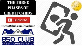 The 3 Phases Of Credit Cards - Secured/Unsecured/Amex/FICO/Cash Back/Ask Questions Via Email