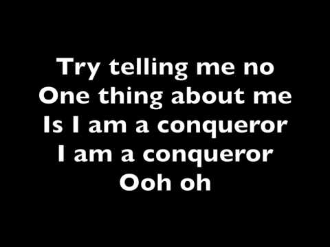 Conqueror - Estelle (Lyrics)