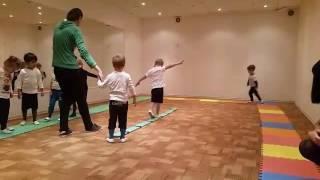 Открытый урок по физкультуре в садике