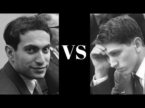 Bobby Fischer's last classical chess game encounter with Mikhail Tal - Curacao Cands (1962) Rd 18