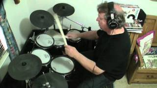 """Drum cover of """"in the air tonight"""" a song by english drummer and singer phil collins. https://www./user/rhythmanticit first appeared on collins' 1..."""
