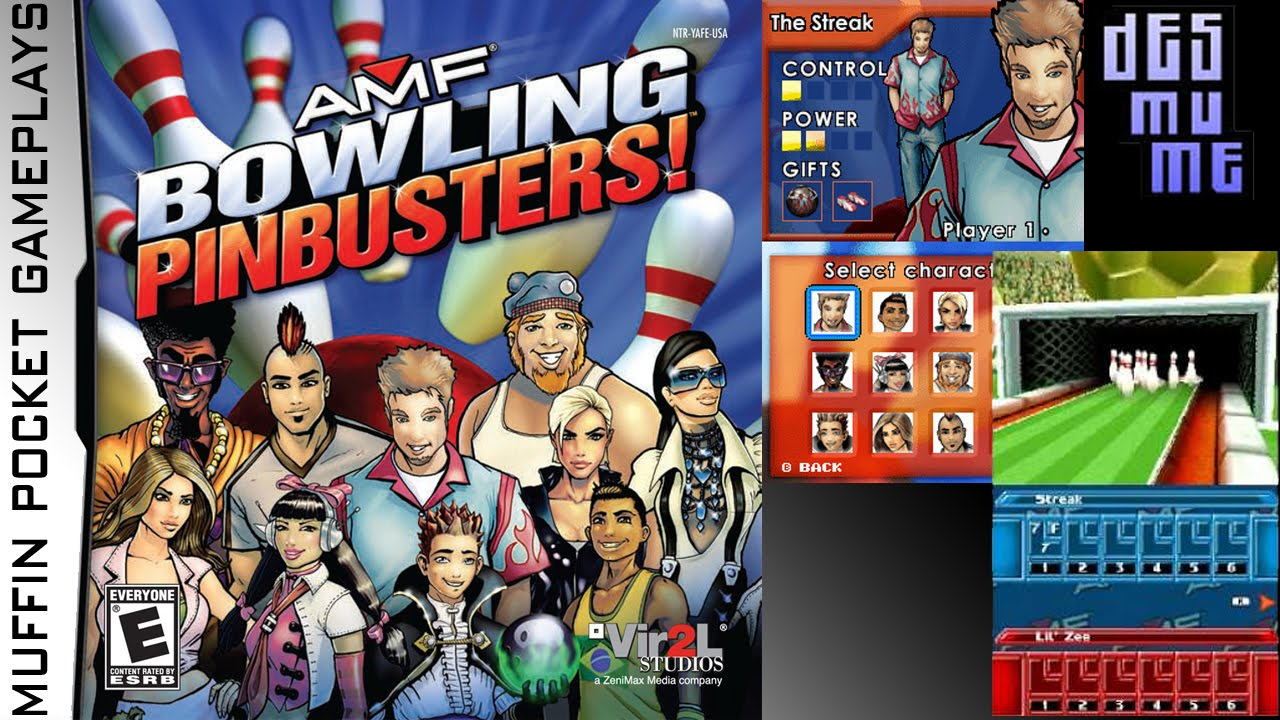 Amf Bowling Pinbusters Desmume Gameplay Hd Youtube