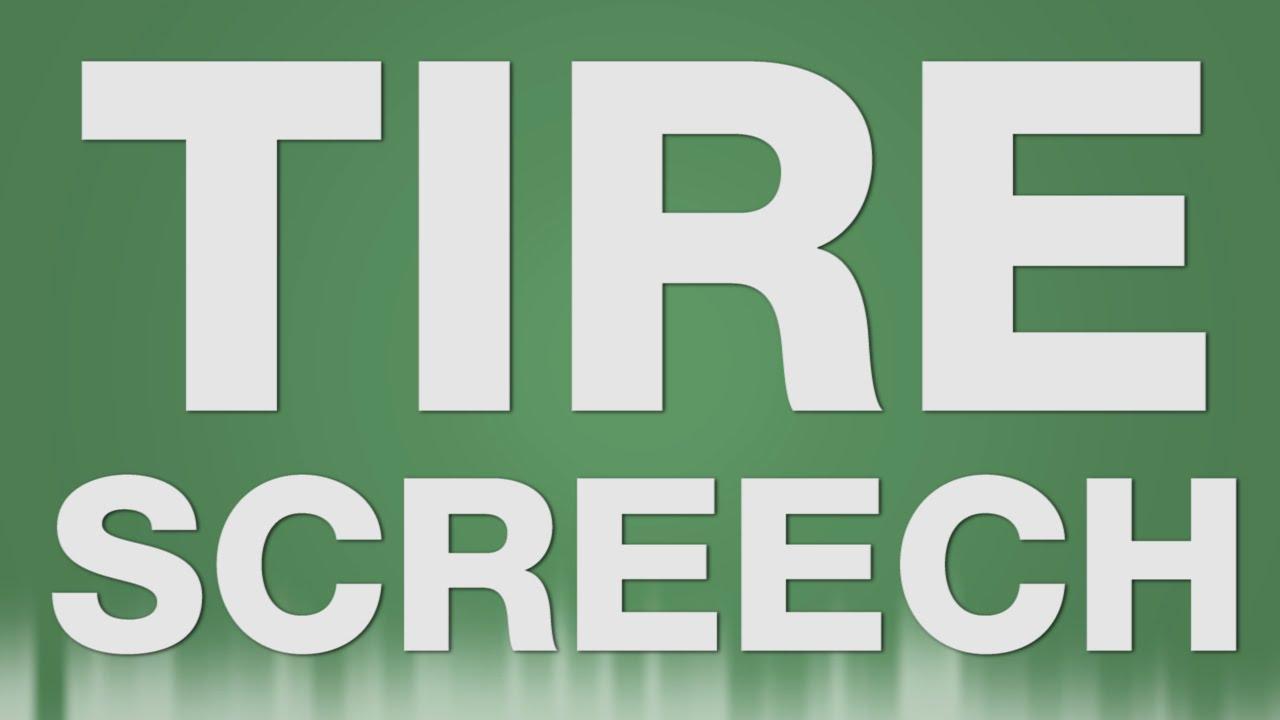 tire screech sound effect tires screeching 180 car screech reifen quietschen sound youtube. Black Bedroom Furniture Sets. Home Design Ideas