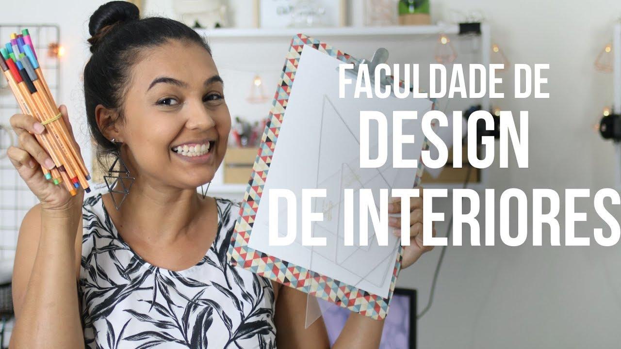 TUDO sobre a faculdade de DESIGN DE INTERIORES - parte 1
