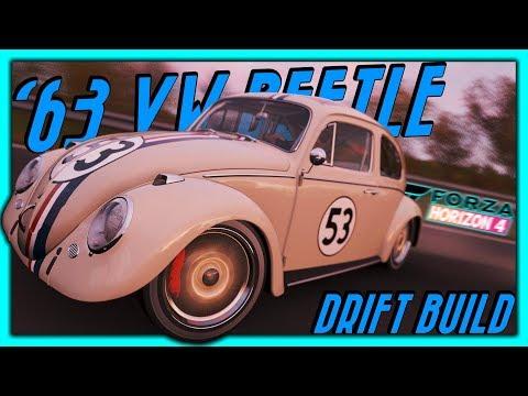 '63 VW BEETLE HERBIE Drift Build - Forza Horizon 4 Comment Suggestion