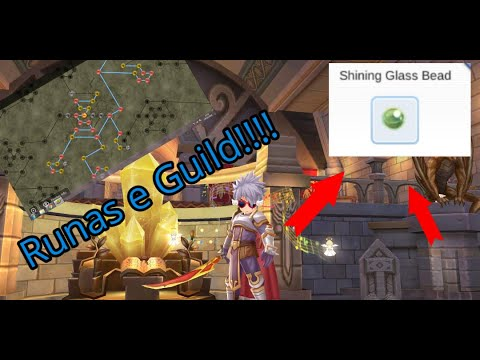 Sistemas de Runas e Guild + Shining Glass Bead Ragnarok Mobile Eternal Love