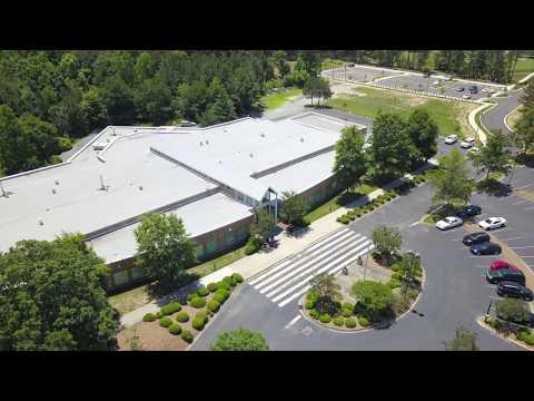 Central Piedmont Community College Merancas Campus Aerial