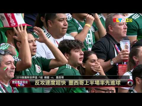 愛爾達電視20180618/德國首戰出師不利!爆冷吞蛋輸墨西哥