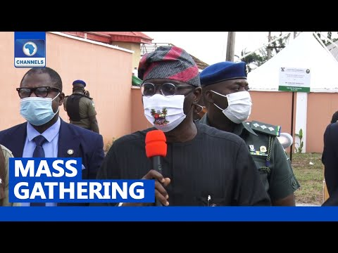 Lagos Increases Mass Gathering From 20 To 50
