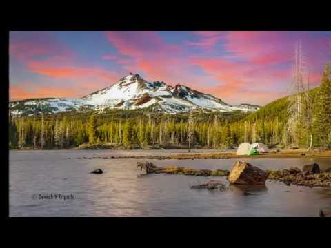 Drone (DJI Phantom 3 4K) Video--Travel Guide - Beautiful/Scenic Oregon @ Sparks Lake, OR (1080p)