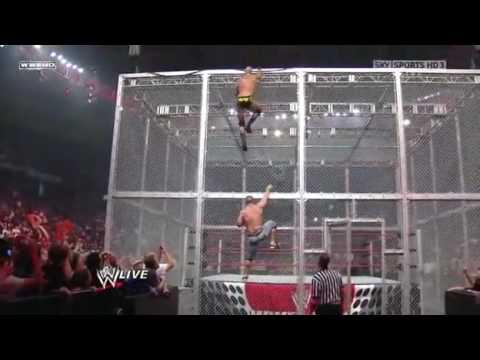 John Cena vs. Chris Jericho, Big Show & Randy Orton (3 on 1 Gauntlet Match) 2/2 - 9/28/09