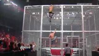 John Cena vs. Chris Jericho, Big Show & Randy Orton (3 on 1 Gauntlet Match) 2/2 - 9/28/09