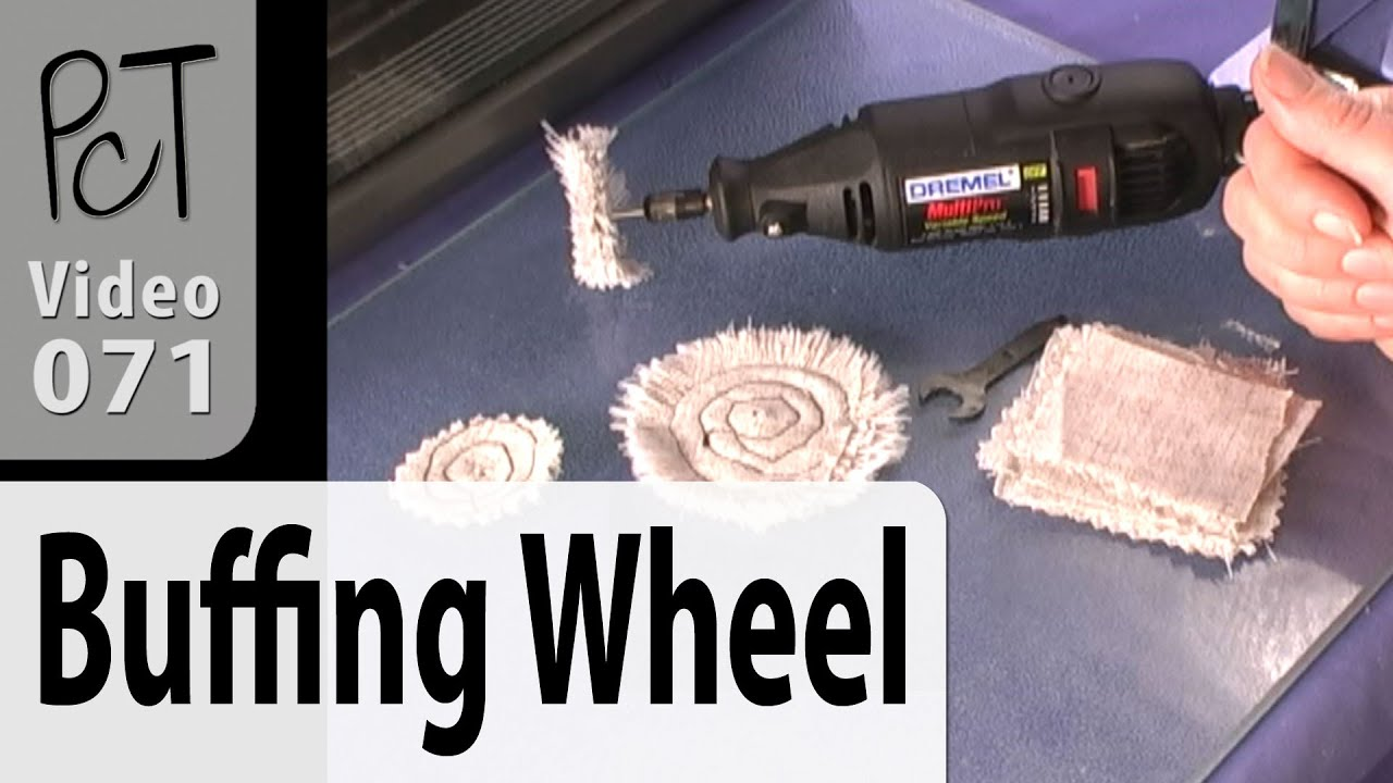 buffing wheel for drill. diy cloth buffing wheel for your dremel tutorial (intro vol-005-3) drill