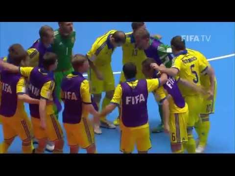 Match 43: Argentina v Ukraine - FIFA Futsal World Cup 2016
