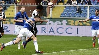 Sampdoria Juventus 0-1 [Cuadrado Gol] Serie A Tim