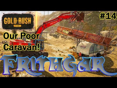 Let's Play Gold Rush The Game #14: Our Poor Caravan!