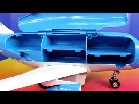 [Disney]Pixar Cars Remote Control Everett Transporter Jet Lightning McQueen Robin Batman Wolverine#8