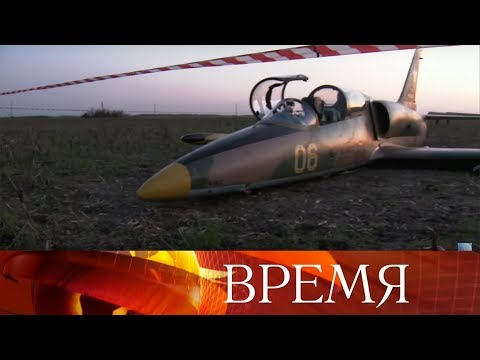 Смотреть Курсант Краснодарского училища посадил самолет с двигателем, отказавшим на взлете из-за птицы. онлайн