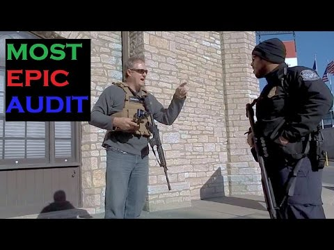 US Border Closed for Filming and Open Carry (1/2) Patrol Checkpoint Audit  Canada