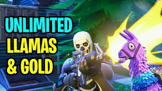 "Fortnite: Comment obtenir ""UNLIMITED LLAMAS"" - Fortnite Save The World (How To Get FREE V-Bucks)"