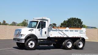 2003 International 7600 8-10 Yard Dump Truck for sale