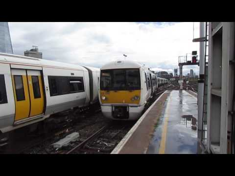 (HD) Trains at London Cannon Street, SEML - 13/06/16