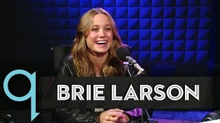 "Brie Larson says ""Room"" broke her in half"