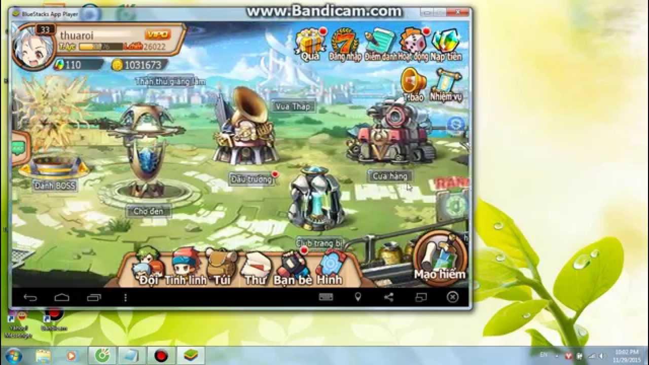 Hướng dẫn tải game PK đại chiến trên máy tính