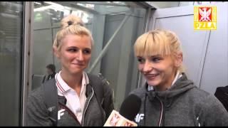 Małgorzata Hołub i Justyna Święty