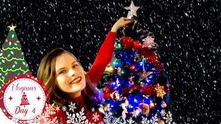 Decorating For Christmas | Vlogmas Day 4 | Jenny E