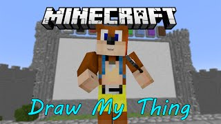 MineCraft Mini games - Draw My Thing - 1st, 2nd, 3rd!